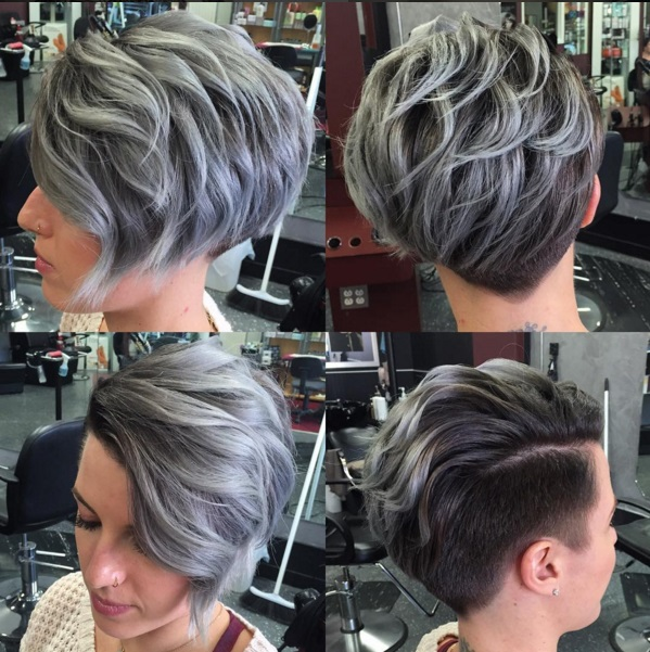 Short Haircuts with Shaved Sides for Women picture 4