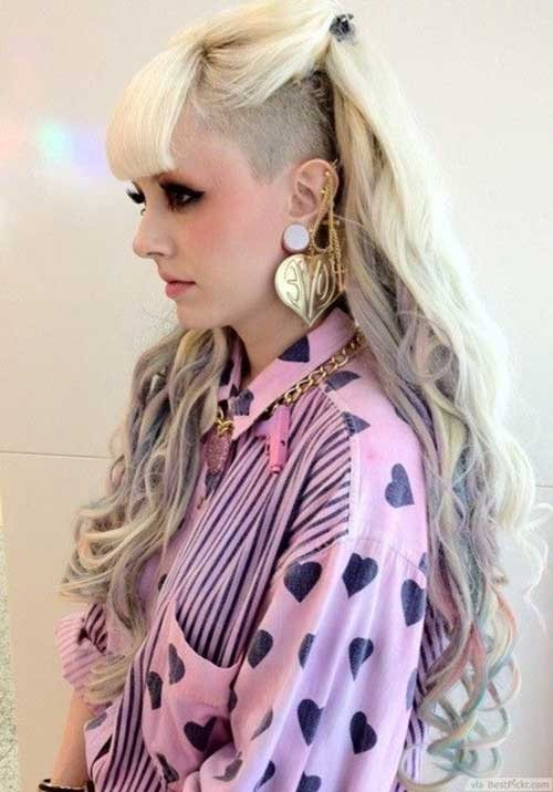 punk hairstyles long hairstyles 2017  styles 7