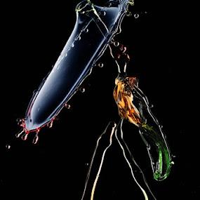 Transformer by Salahudin Damar Jaya - Abstract Water Drops & Splashes