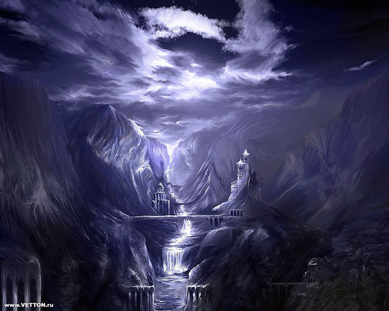 Magick Landscape From Nightmare 7, Magical Landscapes 4
