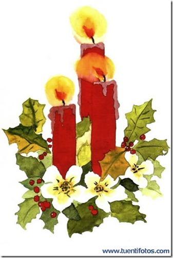 velas navidad dibujos (11)