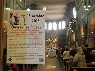 Fête de Saint Jean-Paul II