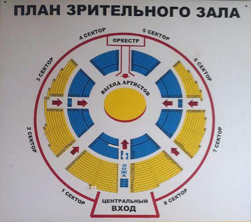 зала Самарский Цирк имени