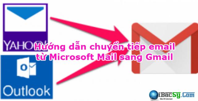 Hướng dẫn chuyển tiếp email từ Microsoft Mail sang Gmail + Hình 1