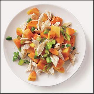 Spicy Crab-Papaya Salad.