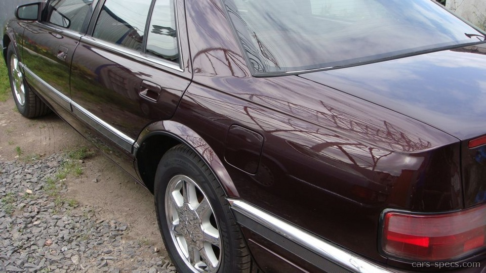 1996 Cadillac Seville Sedan Specifications Pictures Prices