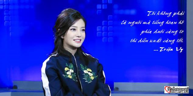2016.02.25_[CCTV - Mặt đối mặt] Phỏng vấn Triệu Vy: Giữa tiến và thoái