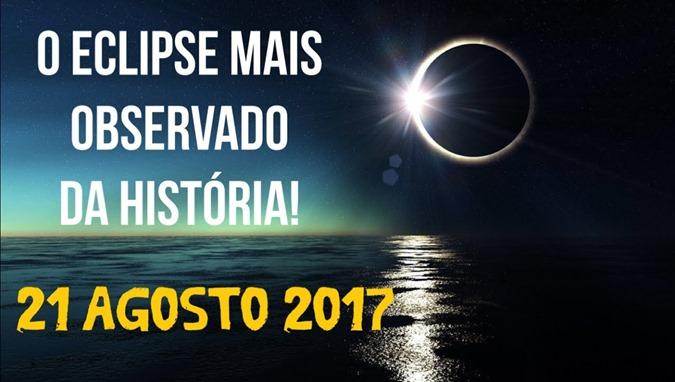 Eclipse solar que ocorrerá em 21 de agosto de 2017