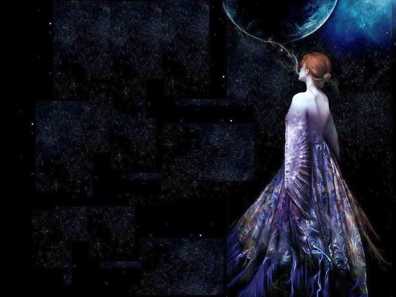 Elegant Lady Girl, Beautiful Magic Girls 2