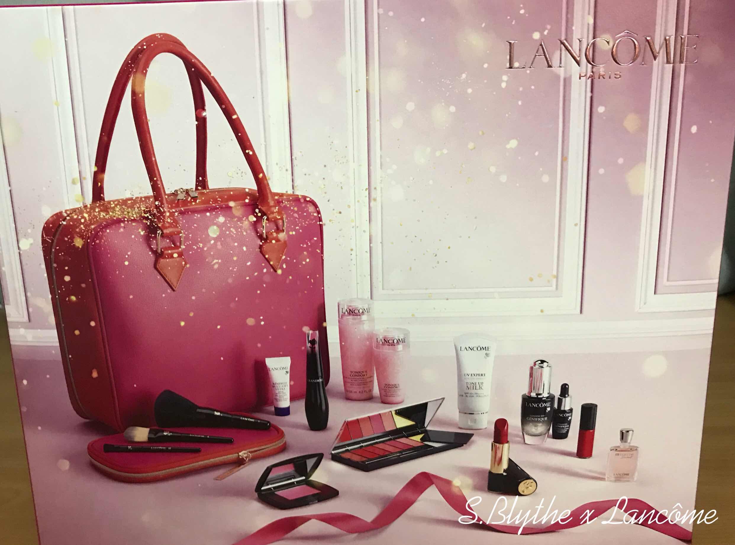 [開箱]感受巴黎聖誕夜,Lancôme 聖誕珍藏版閃爍美肌彩妝箱 ...