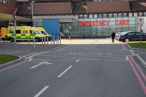 Boozed-up Mansfield student attacked King's Mill Hospital security staff