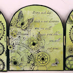 BB0441-E Begin Each New Day #3892 Triptych Template Kit