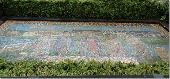 2a mosaic in vines  park