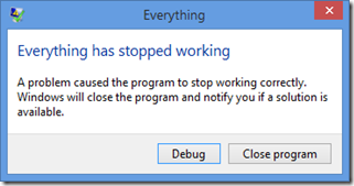 Everything has stopped working