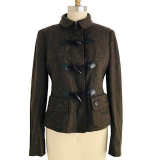 Burberry London Brown Wool Jacket
