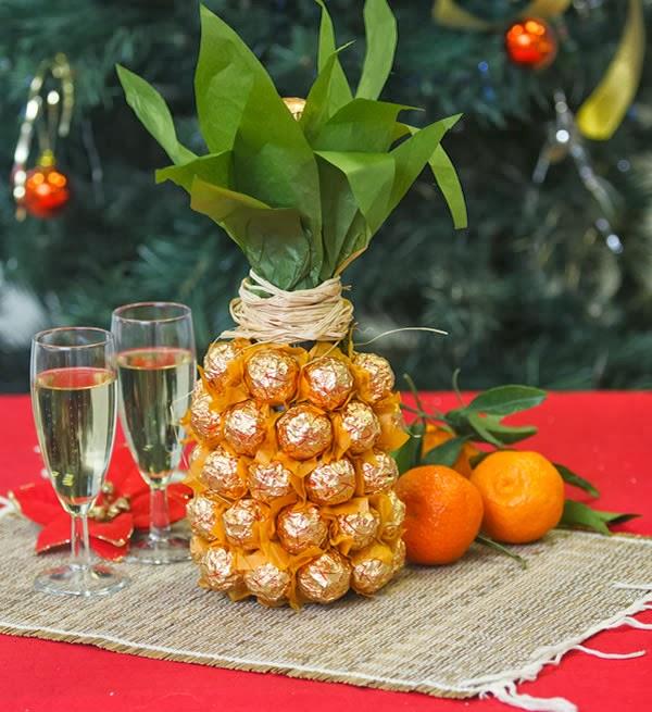 Garrafa abacaxi