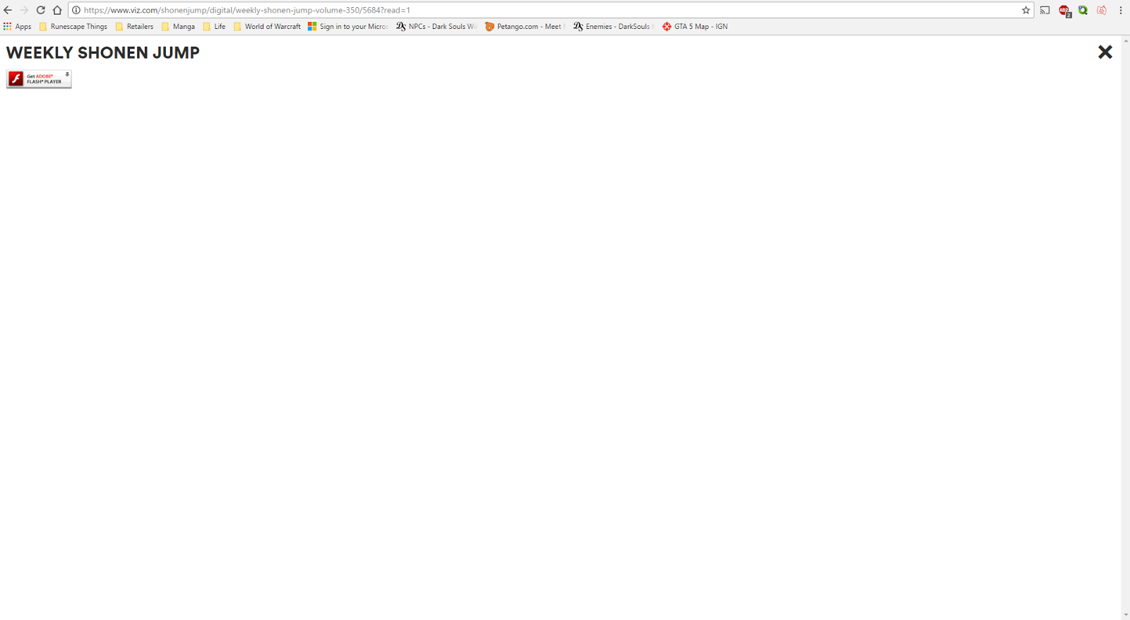 Google Chrome not working with websites that use flash - Google