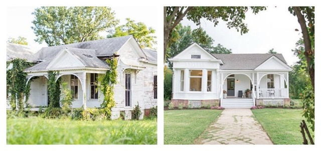morrow house before and after fixer upper t bone steak