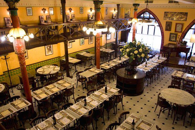 Milcamins calle montsi els quatre gats - Restaurante 7 puertas barcelona ...