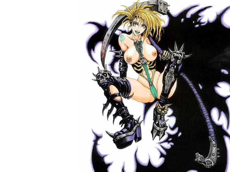 Anime Demon Girl, Satanic Beauties