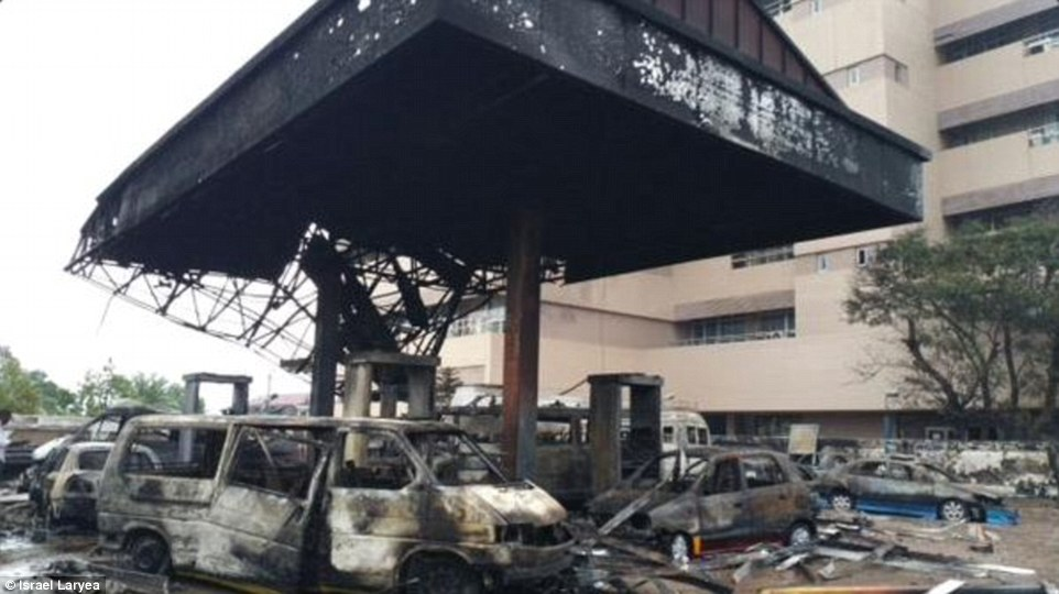 Image of Ghana Gas Station Exploded Killing Hundreds of People