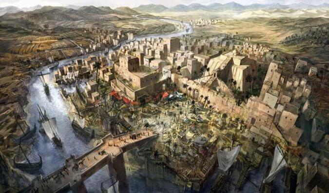 Mesopotamia O tempo antes dos Anunnaki