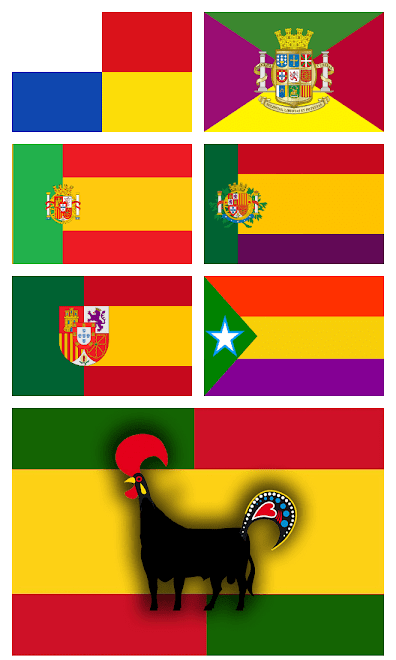 Banderas para Iberia