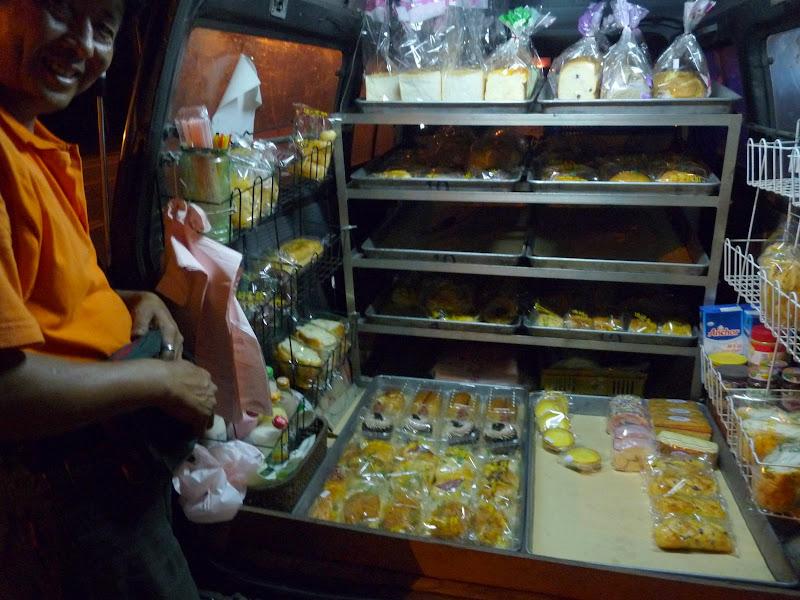 le marchand de pain ambulant