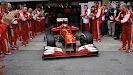 Felipe Massa's last drive out of Ferrari's pitbox