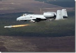 A-10 Attacking