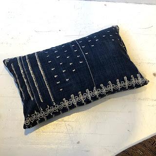 Pottery Barn Indigo Accent Pillow