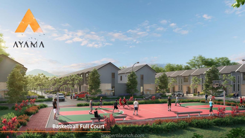 Fasilitas Cluster Ayama - Basket Ball Court