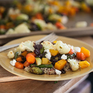 Roasted Vegetables and Quinoa.