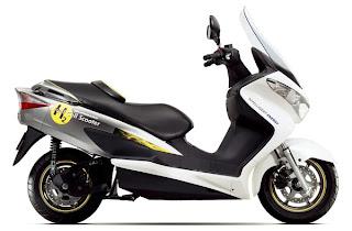 Suzuki Burgman Fuel-Cell es la 1ª moto con hidrógeno en Europa, Mario Schumacher Blog