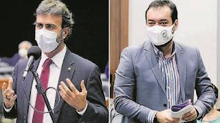Sucessão no RJ : Marcelo Freixo x Cláudio Castro