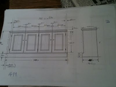 Plans for new furniture design