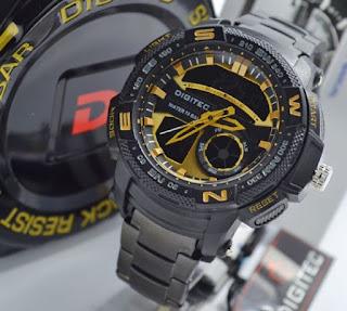 jam tangan Digitec 2014T triple cencor speedo black