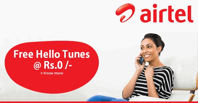free airtel hello tune service