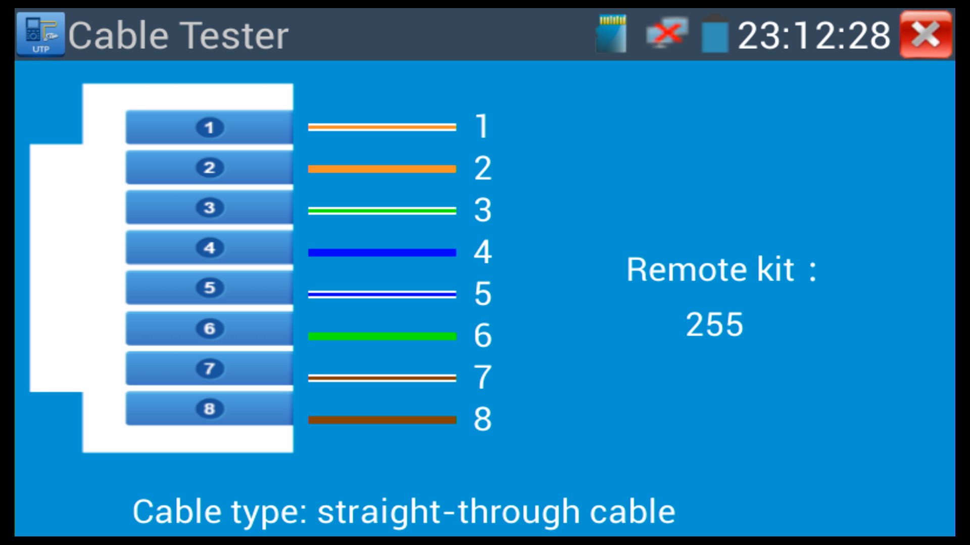 Ahd Hd Tvi Cvi Cctv Camera Test Monitor The Mon 4hd Is A Video Straight Through Ethernet Cable