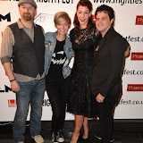 OIC - ENTSIMAGES.COM - Neil Marshall, Axelle Carolyn, Pollyanna McIntosh and Shaked Berenson  at the Film4 Frightfest on Monday   of  Tales of Halloween UK Film Premiere at the Vue West End in London on the 31st  August 2015. Photo Mobis Photos/OIC 0203 174 1069