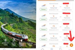 Pembatalan Tiket Kereta Api Online via KAI Access