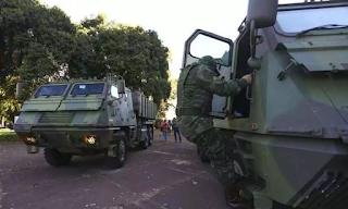 Desfile de tanques precários vira piada nas redes deixam militares envergonhados
