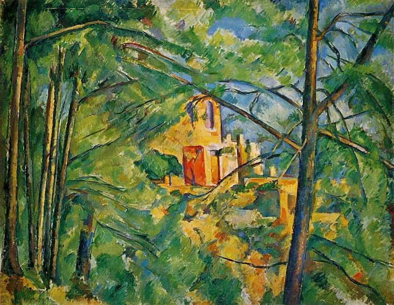 Paul Cézanne - The Chateau Noir