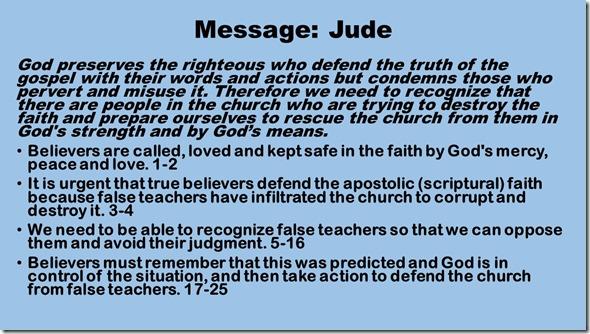 Message Jude