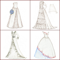 drawing dress designs icon