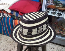 Sombrero Vueltiao Tipo Jorge Celedón Ref. 1