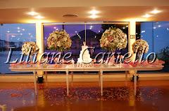 Fotos de decoração de casamento de Casamento Fabíola e Orivam no Clube Piraque Boite Galera da decoradora e cerimonialista de casamento Liliane Cariello que atua no Rio de Janeiro e Niterói, RJ.