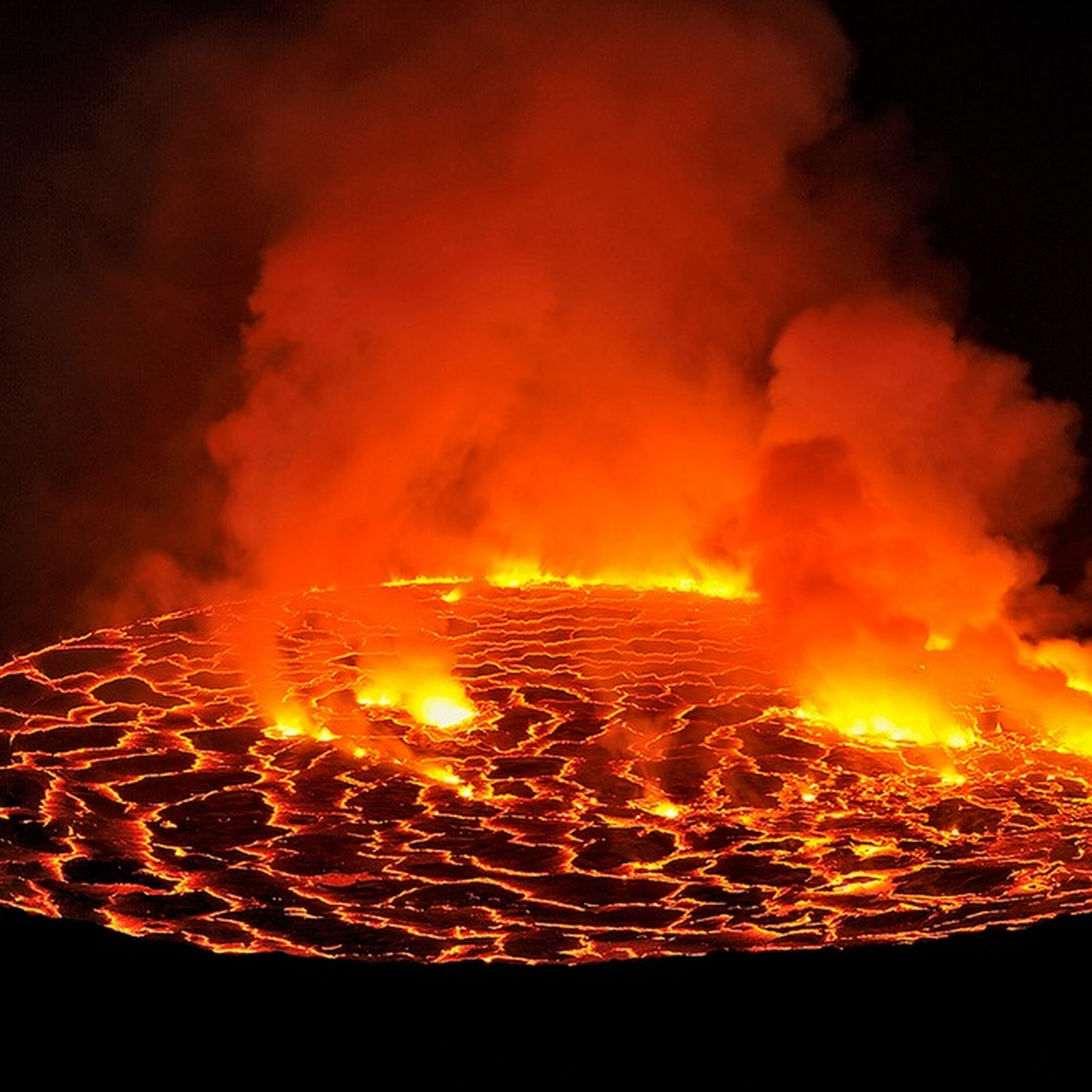 Lava Lakes: The Exposed Guts of Volcanoes