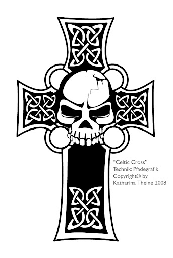 Celtic cross Copyright by Katharina Theine