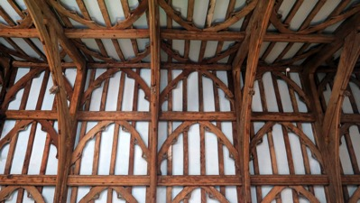 Lytes Cary Great Hall Roof